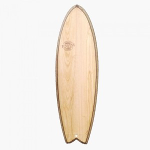 EARTH QUAD FISH 6'0 SURFBOARD NATURAL