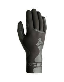 Lightweight yet durable, Infiniti gloves are designed with tapered wrists for a better fit with your wetsuit, full ''Gripper'' palms for best traction, and glued & blindstitched Taitex sealed seams. $80