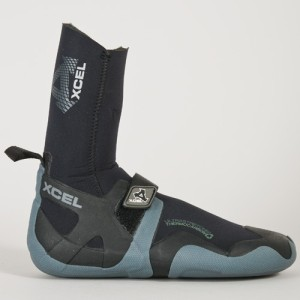 For the coldest water go for the Xcel 8mm Infiniti round toe boots, all the great Infiniti features with the extra thickness for extreme cold $100