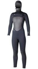 The Infiniti features a WOMENS- watertight X2 front entry system and TDC Thermo Dry Celliant, Xcel's warmest wetsuit lining ever, in the front and back torso. TDC's clinically proven Smart Fiber Technology recycles your body heat into infrared energy for maximum warmth and enhanced performance.- $425. We carry sizes 4, 6 ,8T , 10 and 12