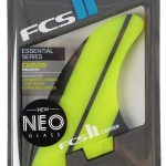 FCS II Essential Series- Carver. These thruster fins are designed for powerful drawn out turns on open face waves.
