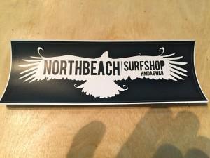 North Beach Surf Shop stickers $5