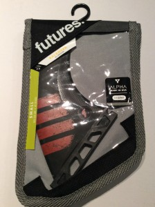 Futures F4 Alpha tri thrusters. Size small. $140