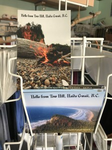 """Gwaii Gary"" Haida Gwaii post cards. $10"
