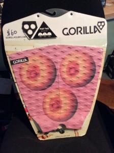 "Gorilla ""Phat"" tri boob stomp pad."