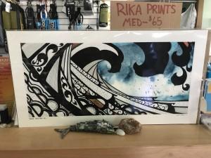 """Hiellen"" print by Rika. (Large) $75"
