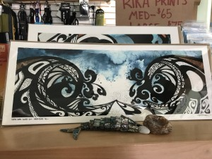 """""""North Coast Close-out"""" print by Rika. (small) $65"""
