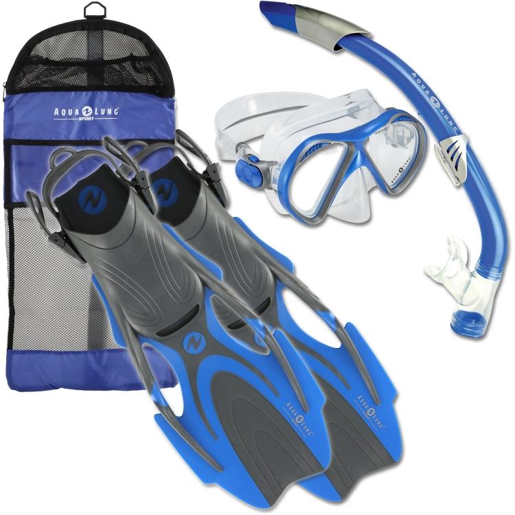 You aqua lung snorkel set something