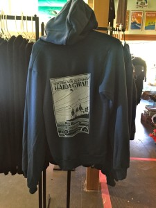 North Beach Hoodie. Navy blue zip-up. 70$