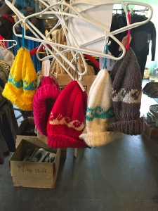 Hand knitted items! Winter is coming and it is time to start gathering as much wool as possible. Toques, socks, slippers, mittens. Sizes for all ages.