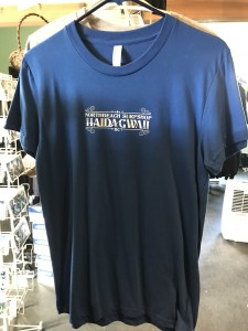 NBSS Haida Gwaii tees. Available in royal blue and athletic gray. $35
