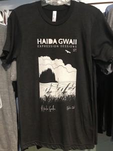 Haida Gwaii Expression Session tee. (2019) $35