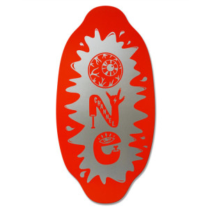 Channel One Skimboard - Red Silver. Kick start your skimboarding off on the right board. The Kayotics Channel One series are the best way to get into the game. $100