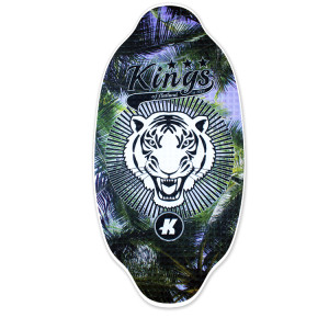 Pro Series Tiger Palms. Pro Series Skimboards are designed and inspired by our global team of riders. Made from the finest Canadian maple sandwiched between a top and bottom sheet of high pressure laminate offering a bulletproof base. $200