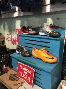Soccer cleats. (we also have golf shoes) Sizes 9.5, 10.5, 12, and 12.5. $20 each.