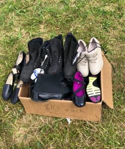 Box o' shoes. $10 a pair