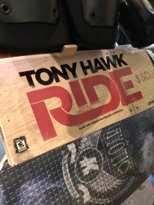 Tony Hawk Wii board. $30